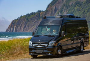 top image of sprinter camper